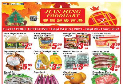 Jian Hing Foodmart (Scarborough) Flyer September 24 to 30