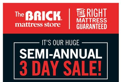 The Brick Flyer September 24 to 27