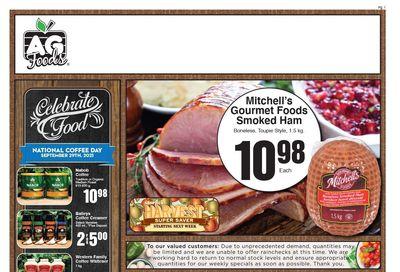 AG Foods Flyer September 26 to October 2