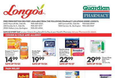 Longo's Pharmacy Flyer September 30 to October 27