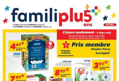 Familiprix Extra Flyer September 30 to October 6