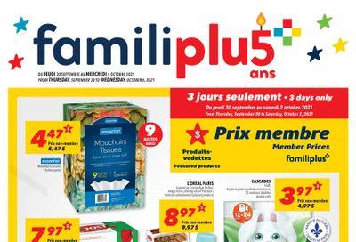 Familiprix Flyer September 30 to October 6