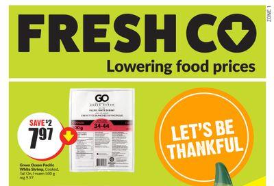 FreshCo (West) Flyer September 30 to October 6