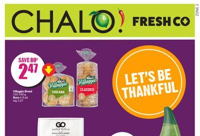 Chalo! FreshCo (West) Flyer September 30 to October 6