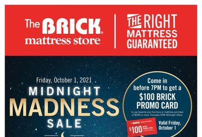 The Brick Mattress Store Flyer September 28 to October 7