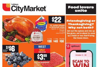 Loblaws City Market (West) Flyer September 30 to October 6
