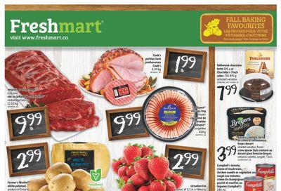 Freshmart (ON) Flyer September 30 to October 6