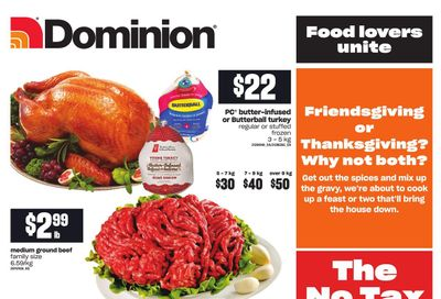 Dominion Flyer September 30 to October 6