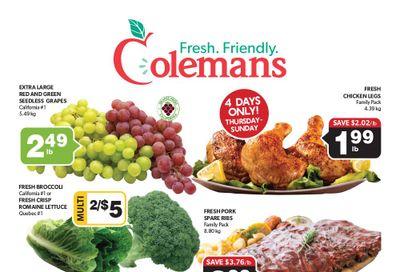 Coleman's Flyer September 30 to October 6