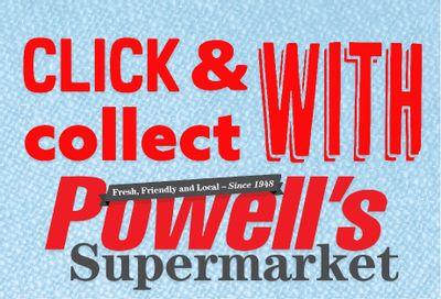 Powell's Supermarket Flyer September 30 to October 6