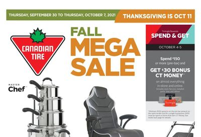 Canadian Tire (ON) Flyer September 30 to October 7