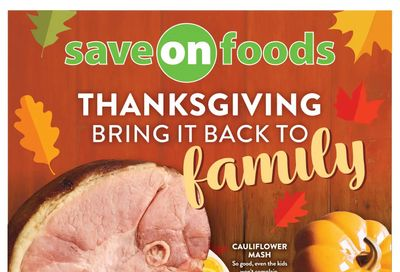 Save on Foods (SK) Flyer September 30 to October 6
