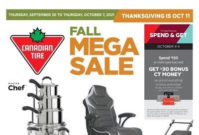 Canadian Tire (West) Flyer September 30  to October 7