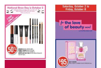 Shoppers Drug Mart (West) Flyer October 2 to 8