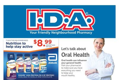 I.D.A. Pharmacy Flyer October 1 to 28