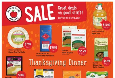 Nature's Fare Markets Flyer September 30 to October 13