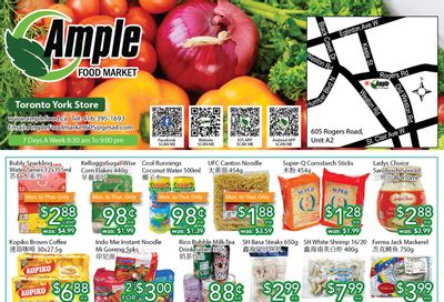 Ample Food Market (North York) Flyer October 1 to 7