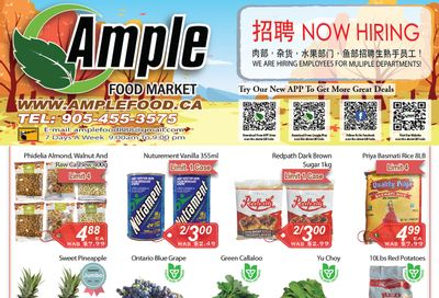 Ample Food Market (Brampton) Flyer October 1 to 7