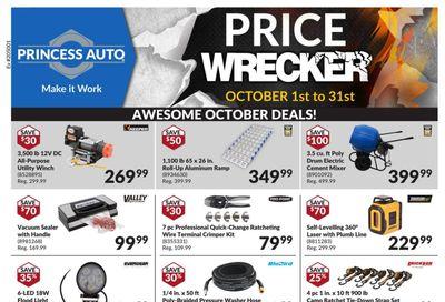 Princess Auto Price Wrecker Flyer October 1 to 31