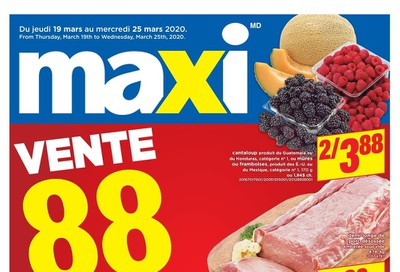 Maxi Flyer March 19 to 25