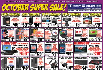 TechSource Flyer October 1 to 28