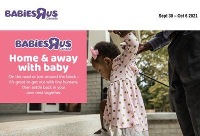 Babies R Us Flyer September 30 to October 6