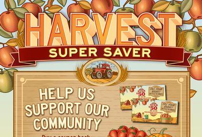 AG Foods Harvest Super Saver Flyer October 3 to 30