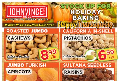 Johnvince Foods Flyer October 2 to 15