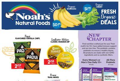 Noah's Natural Foods Flyer October 1 to 31