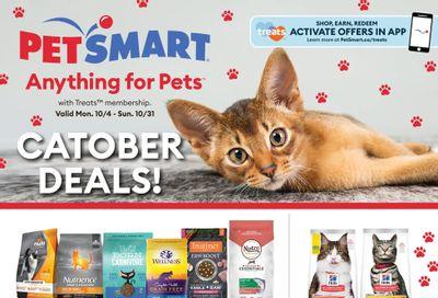 PetSmart Catober Deals Flyer October 4 to 31