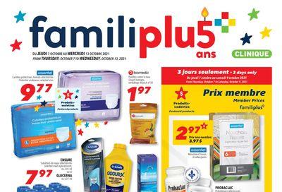 Familiprix Clinique Flyer October 7 to 13