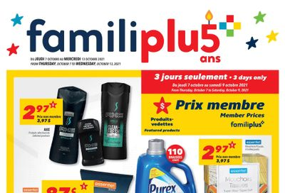 Familiprix Flyer October 7 to 13