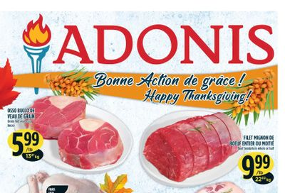 Marche Adonis (QC) Flyer October 7 to 13