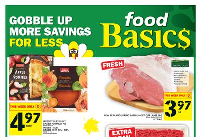Food Basics Flyer October 7 to 13