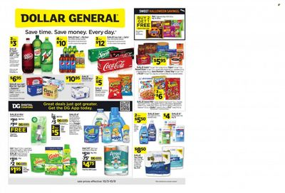 Dollar General (MS) Weekly Ad Flyer October 6 to October 13