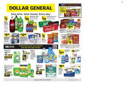 Dollar General (FL) Weekly Ad Flyer October 6 to October 13
