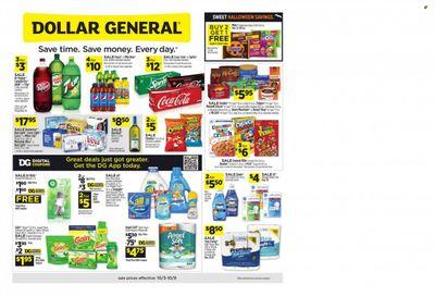 Dollar General (CA) Weekly Ad Flyer October 6 to October 13