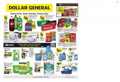 Dollar General (TN) Weekly Ad Flyer October 6 to October 13