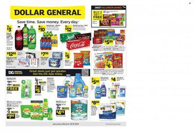 Dollar General (AL) Weekly Ad Flyer October 6 to October 13