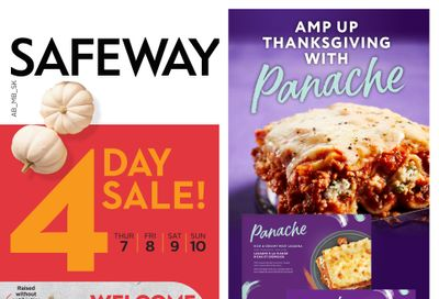 Sobeys/Safeway (SK & MB) Flyer October 7 to 13