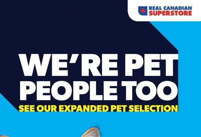 Real Canadian Superstore Pet Flyer October 7 to November 4