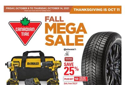 Canadian Tire (ON) Flyer October 8 to 14