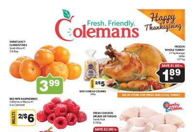 Coleman's Flyer October 7 to 13