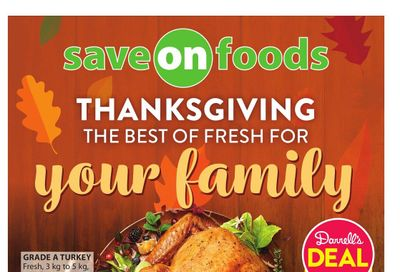 Save on Foods (AB) Flyer October 7 to 13