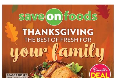 Save on Foods (SK) Flyer October 7 to 13