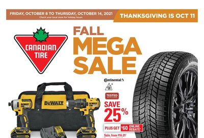 Canadian Tire (West) Flyer October 8 to 14