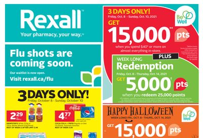 Rexall (BC, SK & MB) Flyer October 8 to 14