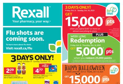 Rexall (AB) Flyer October 8 to 14