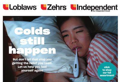 Loblaws (ON) Colds Still Happen Flyer September 23 to October 13