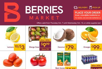 Berries Market Flyer October 7 to 13